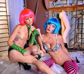Monique Alexander and Jessica Sweet - Punk Pussy Play 21