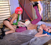 Monique Alexander and Jessica Sweet - Punk Pussy Play 25