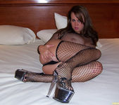 Brandy Talore Horny and Squirming in Bed 5