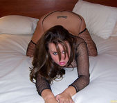 Brandy Talore Horny and Squirming in Bed 18