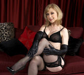 Nina Hartley - Black and Red 6