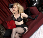 Nina Hartley - Black and Red 8