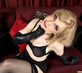 Nina Hartley - Black and Red 9