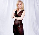 Nina Hartley and the Transparent Black Dress 5