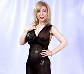 Nina Hartley and the Transparent Black Dress 7