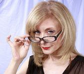 Nina Hartley and the Transparent Black Dress 10