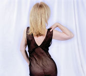 Nina Hartley and the Transparent Black Dress 13