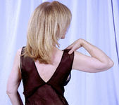 Nina Hartley and the Transparent Black Dress 14