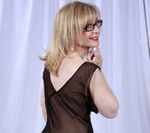 Nina Hartley and the Transparent Black Dress 15
