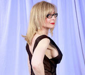 Nina Hartley and the Transparent Black Dress 17