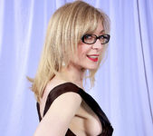 Nina Hartley and the Transparent Black Dress 18