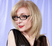 Nina Hartley and the Transparent Black Dress 19
