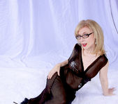 Nina Hartley and the Transparent Black Dress 21