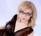 Nina Hartley and the Transparent Black Dress 22