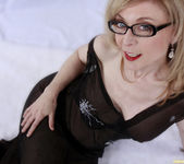 Nina Hartley and the Transparent Black Dress 23