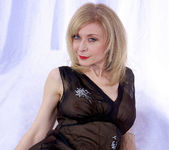 Nina Hartley and the Transparent Black Dress 27