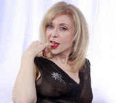 Nina Hartley and the Transparent Black Dress 29