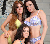 Diamond Foxxx, Aleska Nicole, and Melissa Jacobs 3