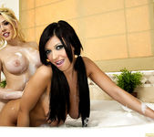 Kagney Linn Karter and Halie James with ''Bath Toys'' 14