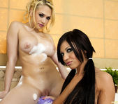 Kagney Linn Karter and Halie James with ''Bath Toys'' 25