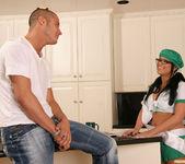 Eva Angelina Goes Door-to-Door in the Bad Girl Skirt 13