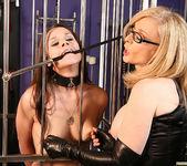 Nina Hartley Punishing Adana for Bad Behavior 9