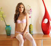 Jenna Haze - White Hot Tease with Pantyhose 24