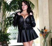 Brandy Talore Bares her Big Breasts Outdoors 4