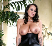 Brandy Talore Bares her Big Breasts Outdoors 22