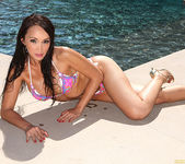 Katsuni Seducing Solo Outdoors by the Pool 29