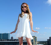 Lexi Belle Strips a White Dress in Public 4