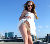 Lexi Belle Strips a White Dress in Public 15