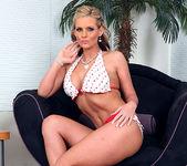 Phoenix Marie's Yellow Polka-Dot Bikini 16