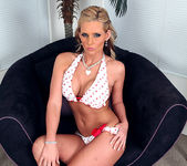 Phoenix Marie's Yellow Polka-Dot Bikini 17