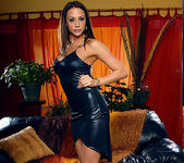 Chanel Preston - Black Dress and Wet Toys 2