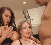 Brandy Talore and Maggie Green - Tits Fuck Threesome 28