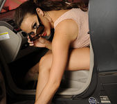 Chanel Preston Masturbating in the Driver's Seat 11