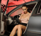 Chanel Preston Masturbating in the Driver's Seat 21