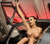 Chanel Preston Masturbating in the Driver's Seat 28