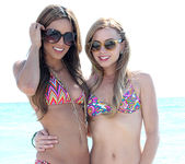 Lexi Belle and Melanie Rios - Beach Tease 4