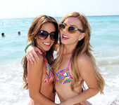 Lexi Belle and Melanie Rios - Beach Tease 10