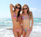 Lexi Belle and Melanie Rios - Beach Tease 13