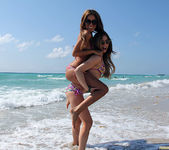 Lexi Belle and Melanie Rios - Beach Tease 17