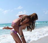 Lexi Belle and Melanie Rios - Beach Tease 19