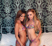 Lexi Belle In Bed with Melanie Rios 5