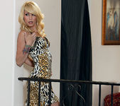 Monique Alexander Struts Naked Around the House 6