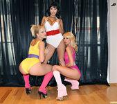 Monique Alexander, Alexis Texas & Sunny Leone 5