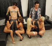 Breanne Benson and Friends Wow the Guys with Group Sex 28