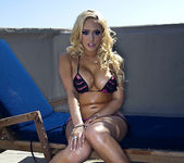 Kagney Linn Karter Being Naughty Outdoors 26
