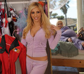 Spencer Scott and Tasha Reign - Old Cheering Uniforms 15